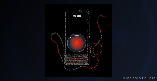 2001: A Space Odyssey T-Shirt (HAL 9000, Stanley Kubrick)