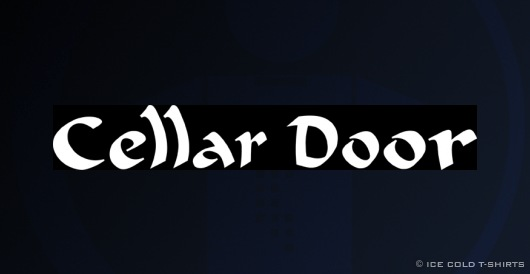 Alternate Cellar Door (Donnie Darko T-Shirt)