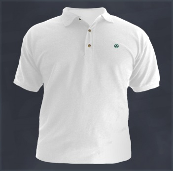 Banner of Peace (Pax Cultura, Roerich�s Pact) Polo Golf Sport Shirt