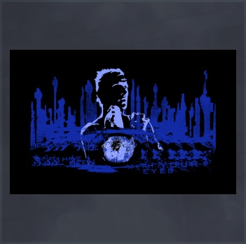 Blade Runner T-Shirt (Roy Batty, Nexus 6 Replicant)