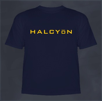 Halcyon Shirt (Yoga and Ravers)