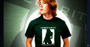 Insecurity and Short Skirts Clubbing T-Shirt (Dumb Girls)