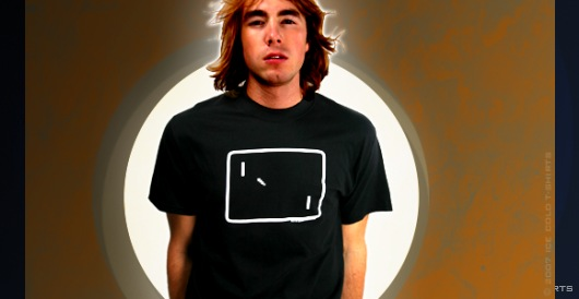 Pong T-Shirt (Retro Video Game)